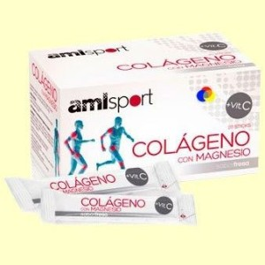 Amlsport Colágeno con Magnesio + Vitamina C