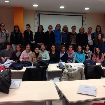 Charla en el Colegio de Enfermería de León